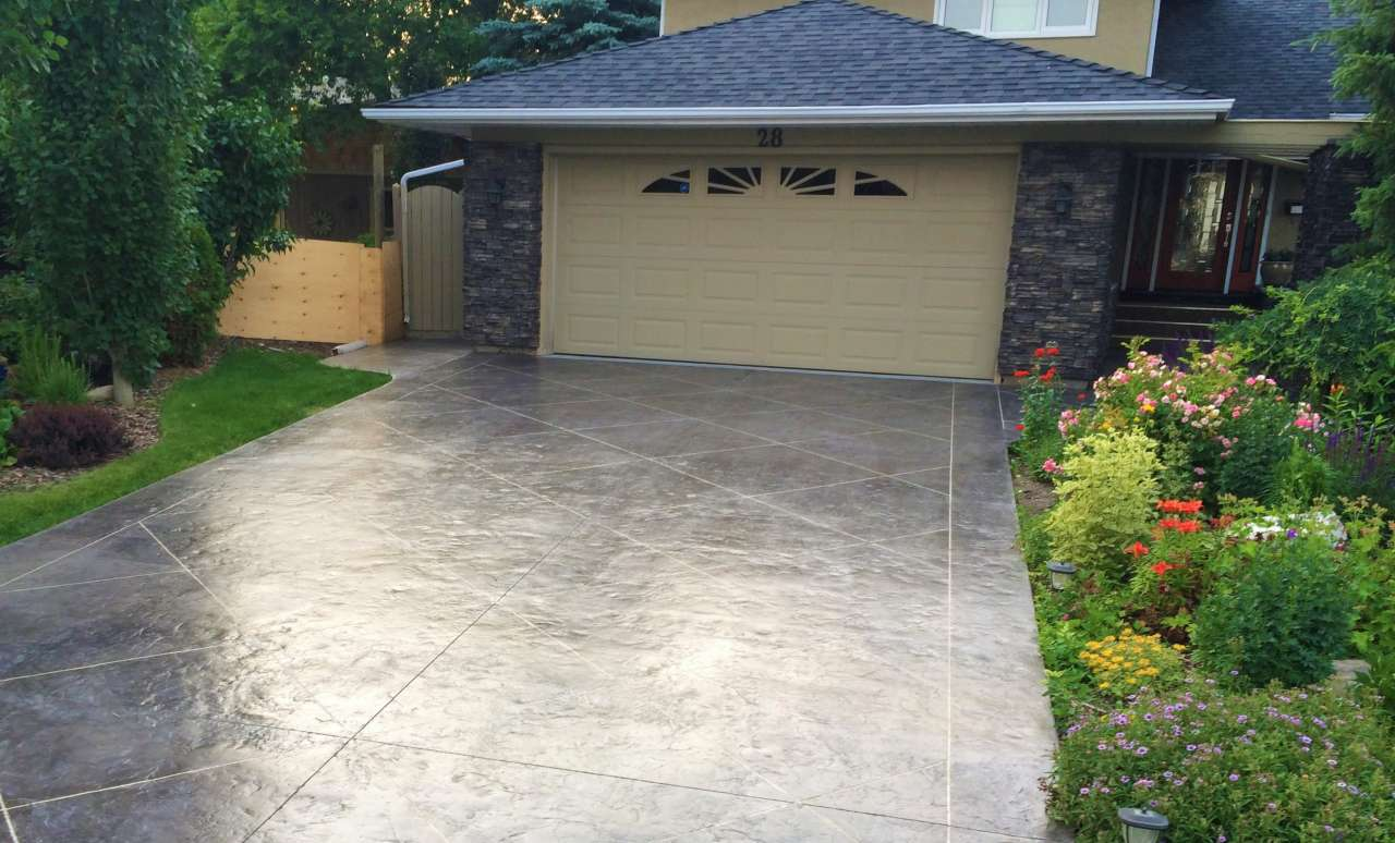 Concrete Driveway Calgary Protection